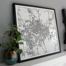 Gainesville Street Carving Map (Sold Out)