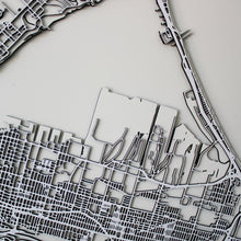 Hamilton Street Carving Map (Sold Out)