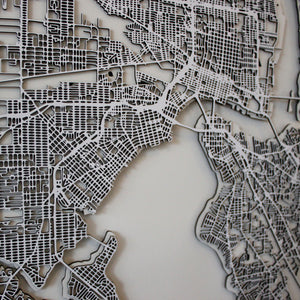 Jacksonville Street Carving Map (Sold Out)