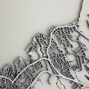 St. John's Carving Map (Sold Out)