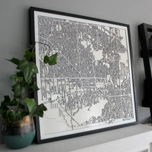 Phoenix Street Carving Map (Sold Out)