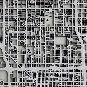 Phoenix Street Carving Map
