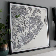 Staten Island Street Carving Map