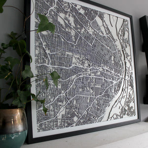 St. Louis Street Carving Map (Sold Out)