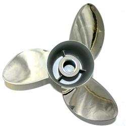 "Michigan Wheel Apollo : 13"" x 21"" Stainless Steel 3 Blade Propeller"