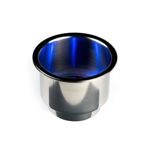 LED Marine Cupholders - Blue