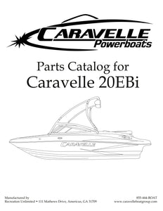 Caravelle 20EBi - Parts Catalog