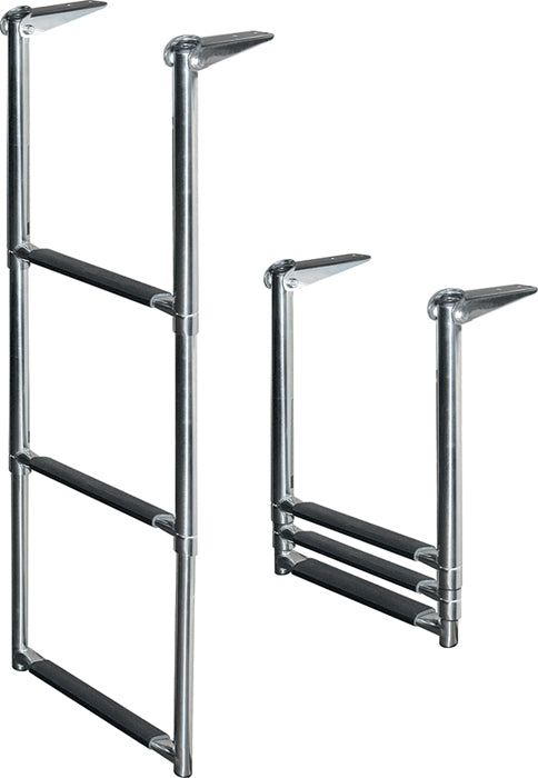 3 Step Recessed Ladder