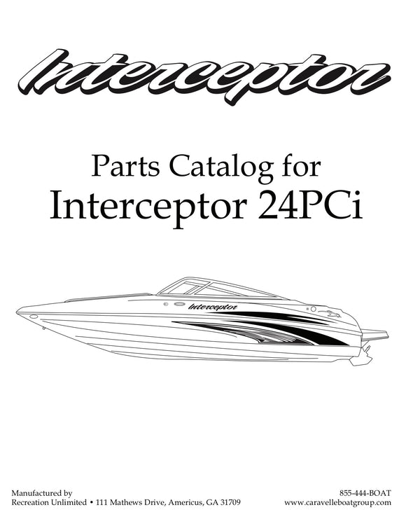 Interceptor 24PCi - Parts Catalog