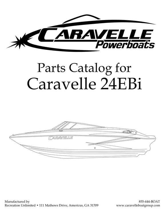 Caravelle 24EBi - Parts Catalog