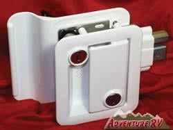 Travel Trailer Entrance Door Lock