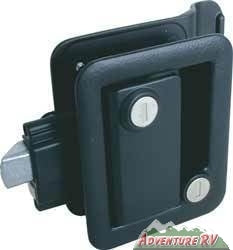 Travel Trailer Lock - Entry Door - Black