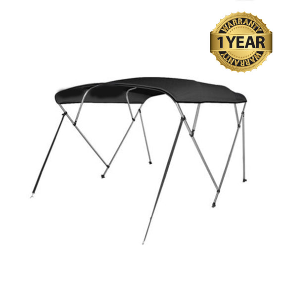 4 Bow Bimini Top : 8' X 91-96
