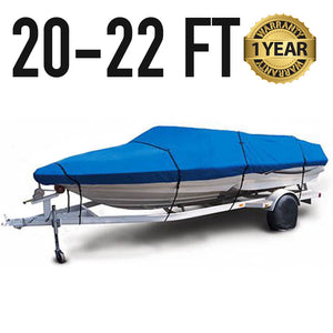 Universal Boat Cover : 20-22 FT : 1 Year Warranty