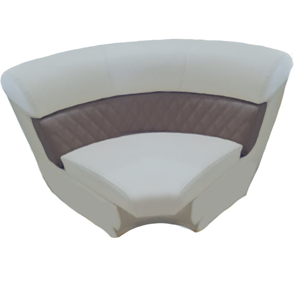 Right Angle Corner Arch Pontoon Seat
