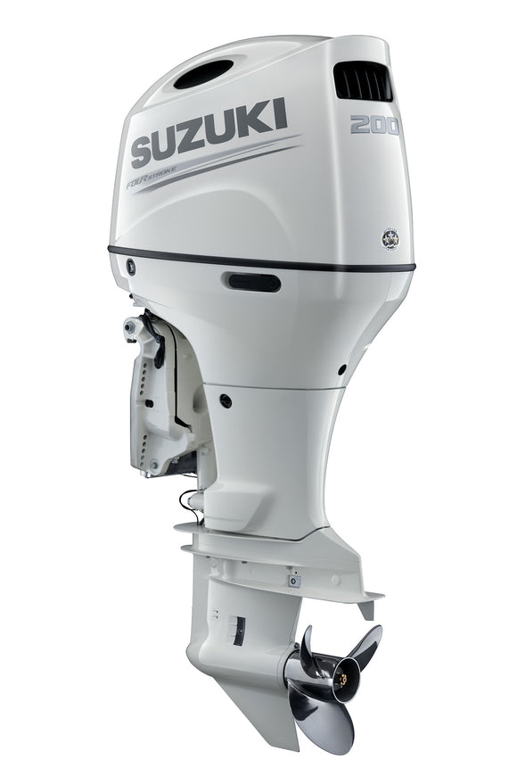 Suzuki Marine 200HP Outboard Engine Counter Rotate