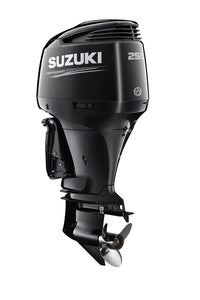 "Suzuki Marine 250HP 25"" Outboard Engine - Black"