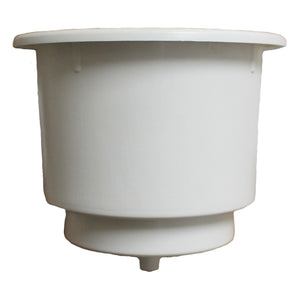 White Plastic Cupholder