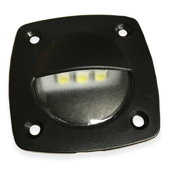 LED Companion Way Light Black/White Courtesy Light