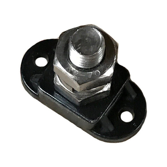 Black Battery Connector Cable End