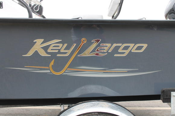 Key Largo Chrome Dome Graphics set - ITEM 1