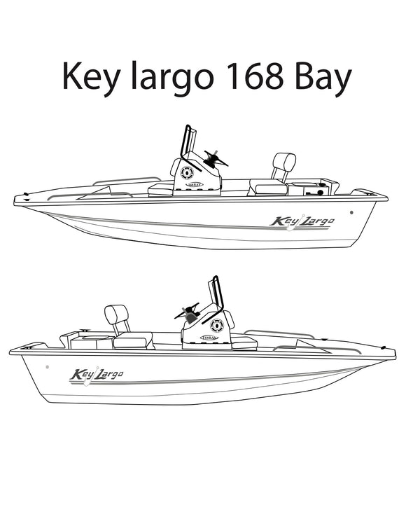 Key Largo 168 Parts Catalog