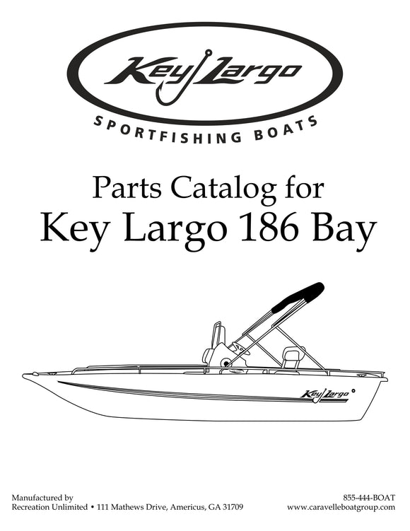 Key Largo 186 Bay - Parts Catalog