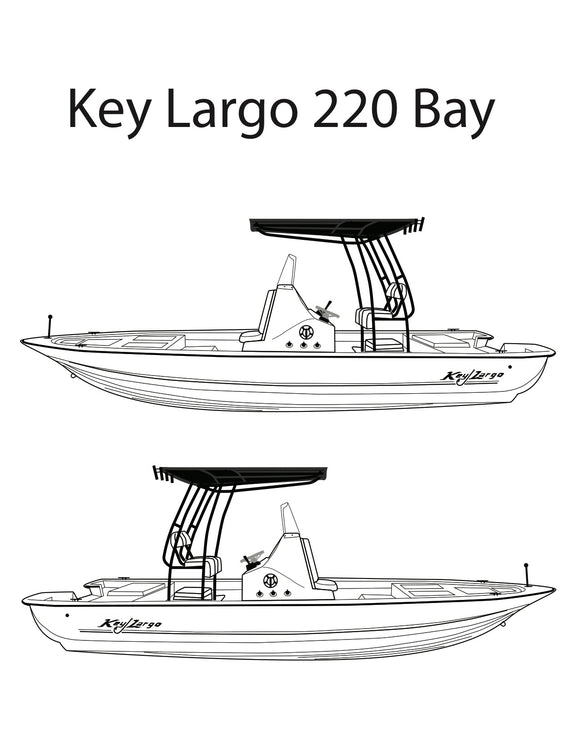 Key Largo 220 Parts Catalog
