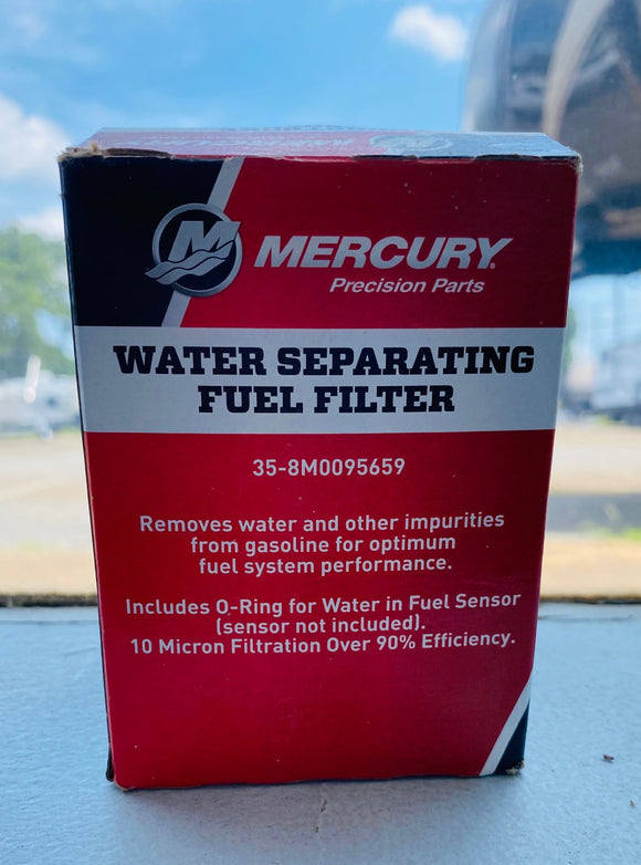 Mercury Water Separating Fuel Filter