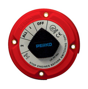 PERKO Battery Selector Switch - Main Battery Switches