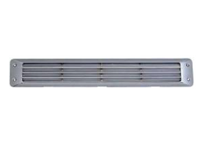 Air Vent - Chrome - Flush Louvered