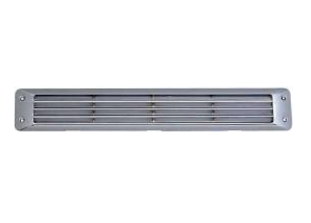 Air Vent Chrome Flush Louvered