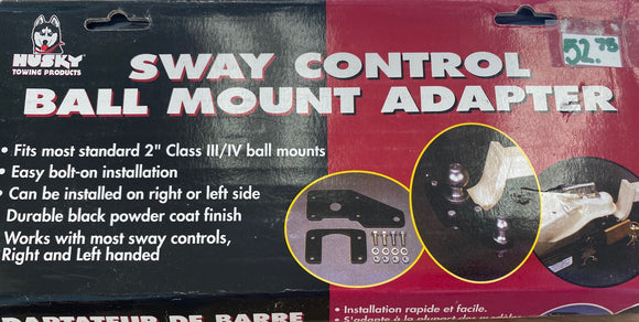 Sway Control Ball Mount Adapter