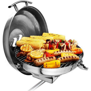 Kettle Grill - Round Stainless Steel