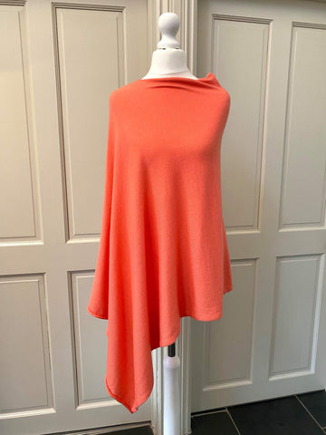 Coral Poncho - was £30 now £15