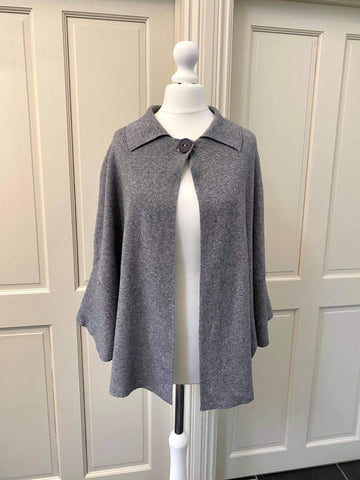Grey button cardigan Was £40 now £20