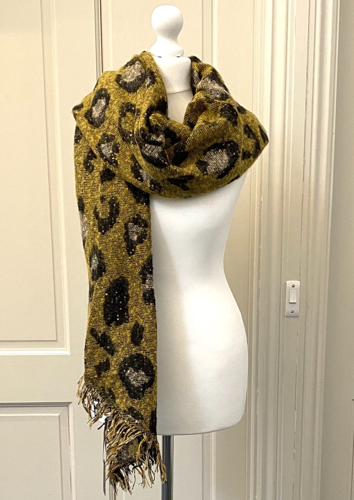Animal Print Scarf - was £25 now £16