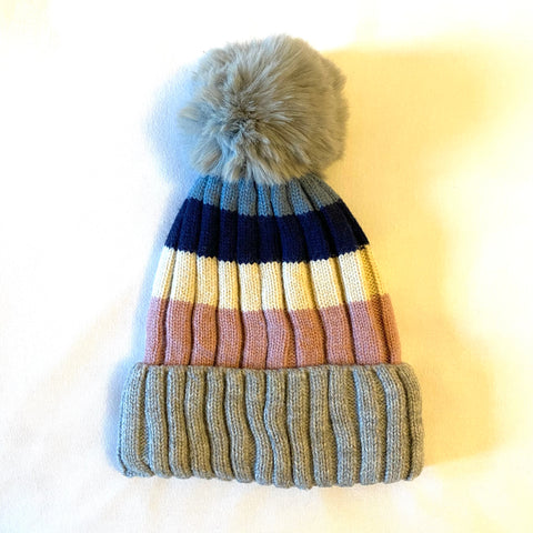 Bobble Hat - grey