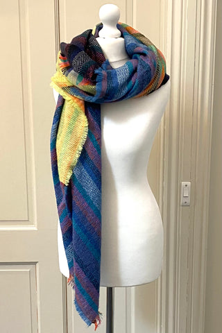 Multi- coloured Scarf - was £16.95 now £12.95