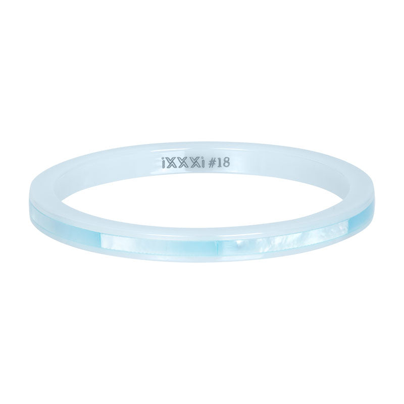 i.X.X.X.i infill ring Ceramic Blue Shell  - 2mm