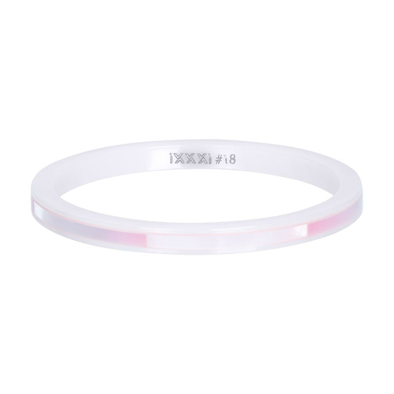 i.X.X.X.i infill ring Ceramic Pink Shell  -  2mm