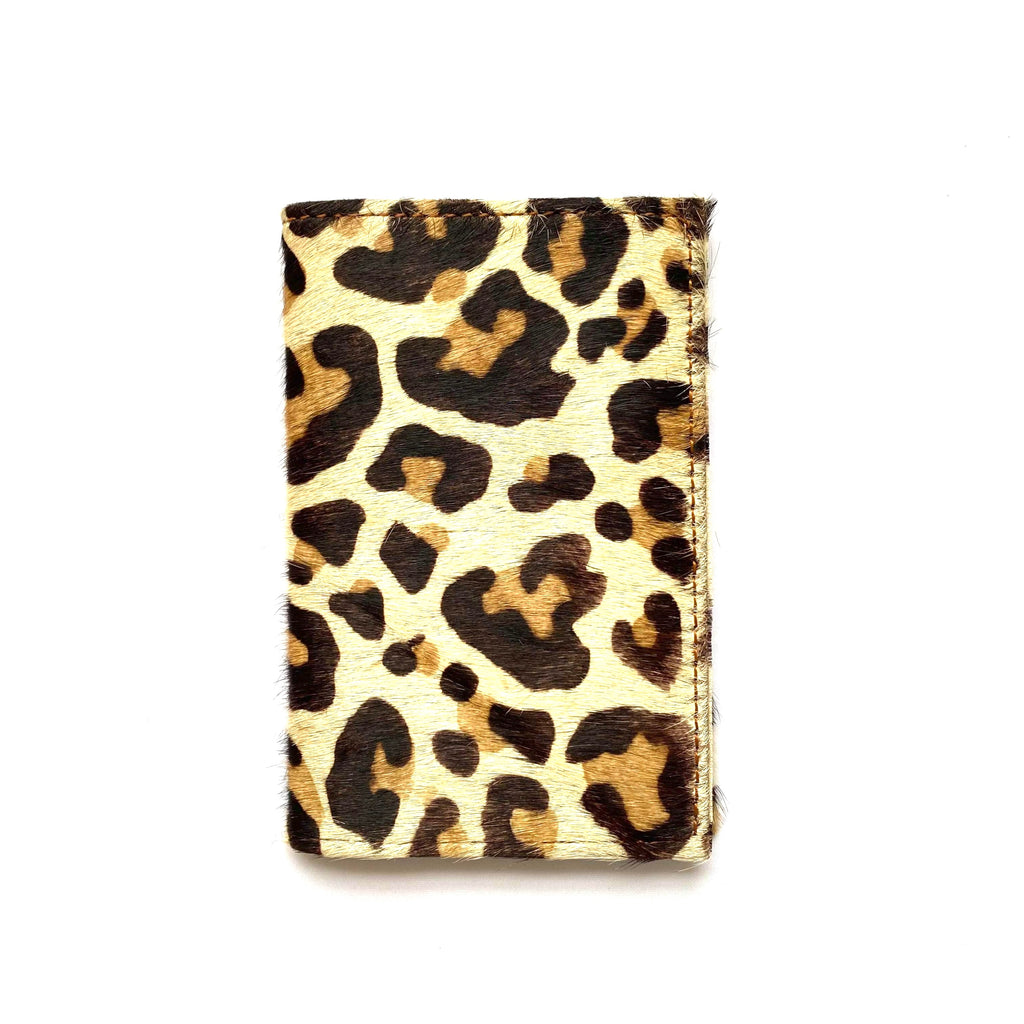Leather Animal Print Wallet