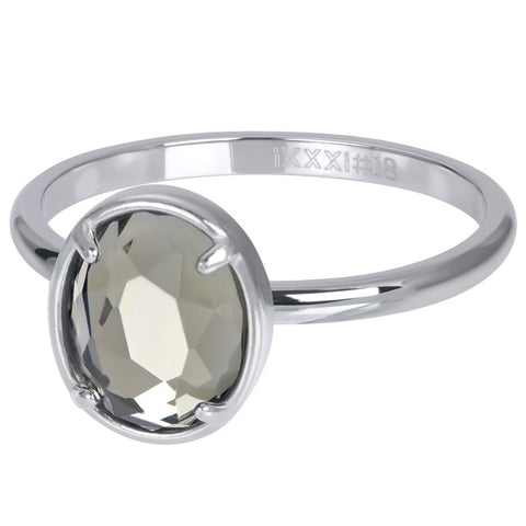 i.X.X.X.i infill ring Glam Oval crystal 2mm