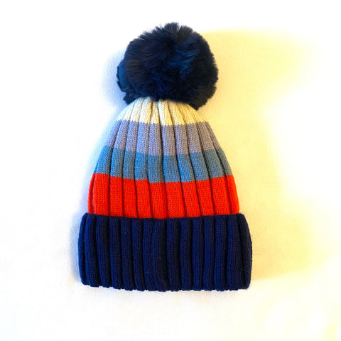 Bobble Hat - navy