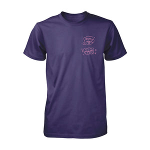 Fomo Serious Purple Tee