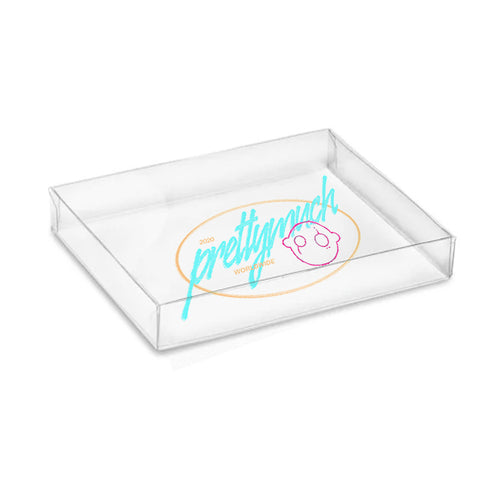 Pretty Much Logo Acrylic Tray