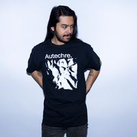 AUTECHRE Amber Shirt Black White Abstract Logo