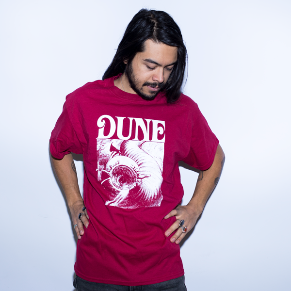 DUNE SANDWORM Film 1984 Shirt Red