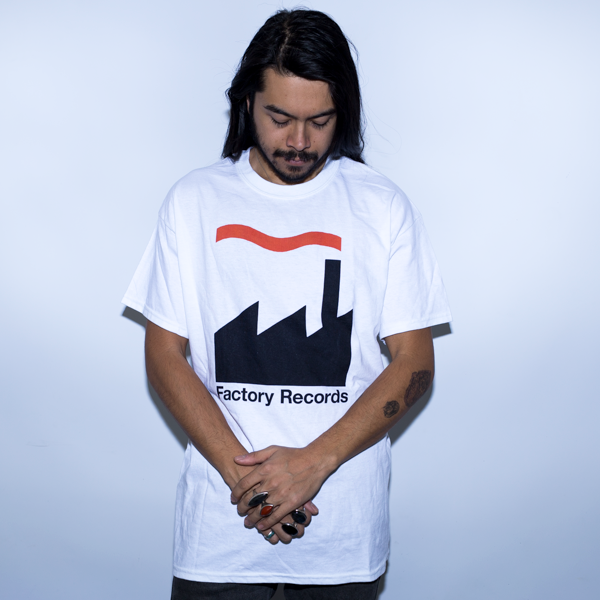 FACTORY RECORDS Shirt White/Red/Black