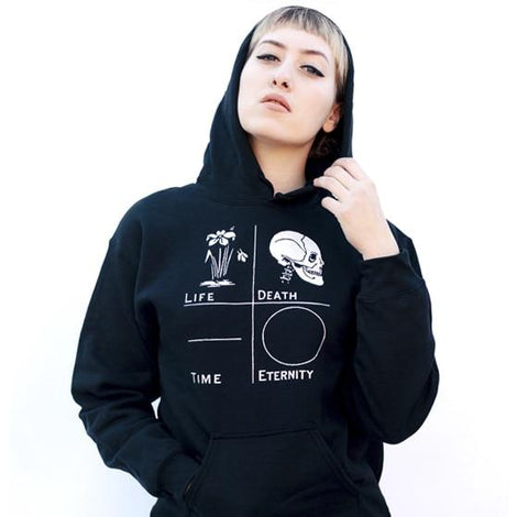 LIFE DEATH TIME ETERNITY Hoodie